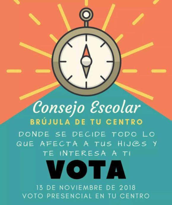 Elecciones Consejos Escolares 2018