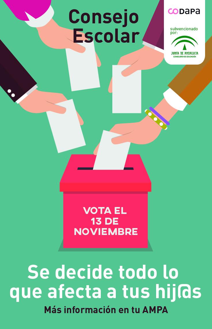 ¡El 13 de noviembre vota y participa!